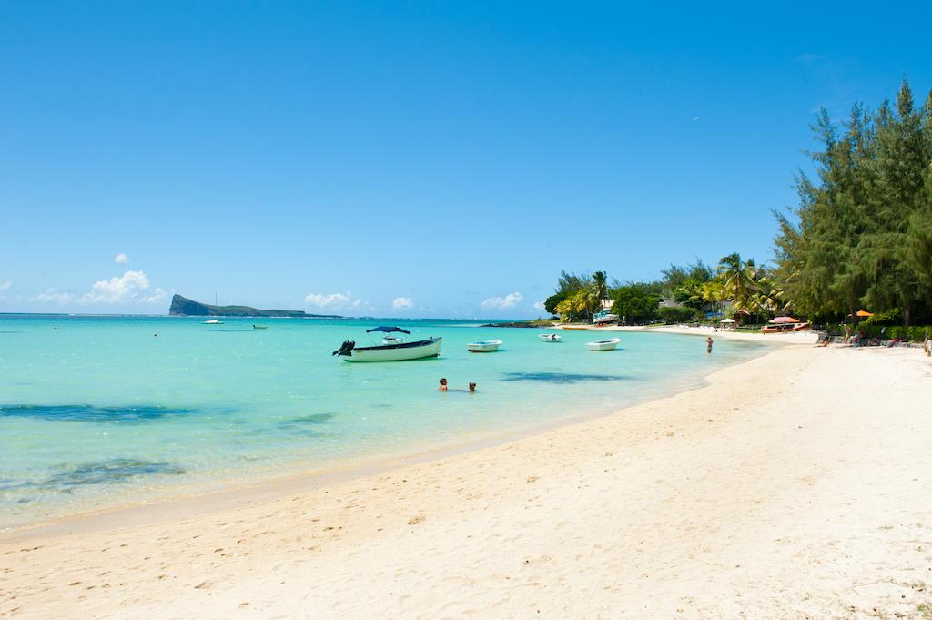 White Sand of Mauritius Beaches.
