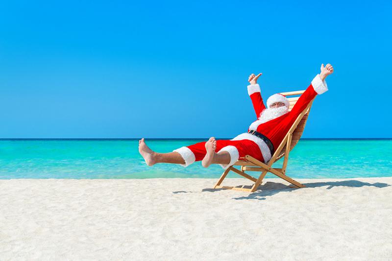 Santa on anIsland!